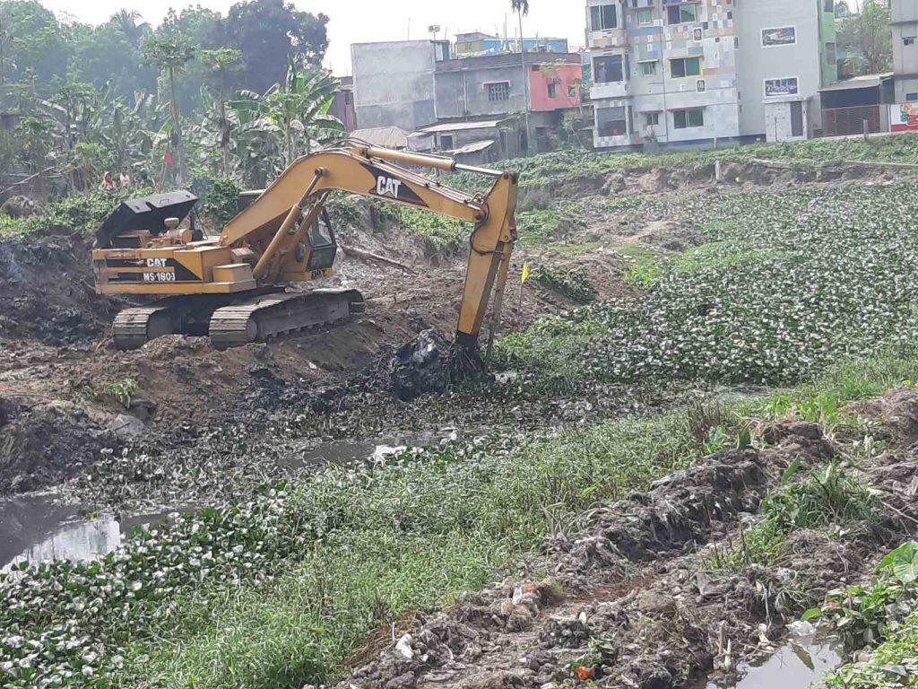 River Dredging on April 2021